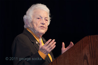 Mayor Hazel McCallion at CLM 2011 tribute to Jack Prazeres