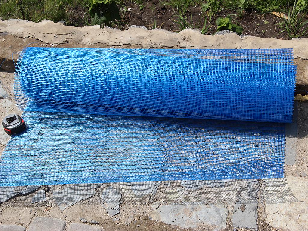 Декор сетка камень