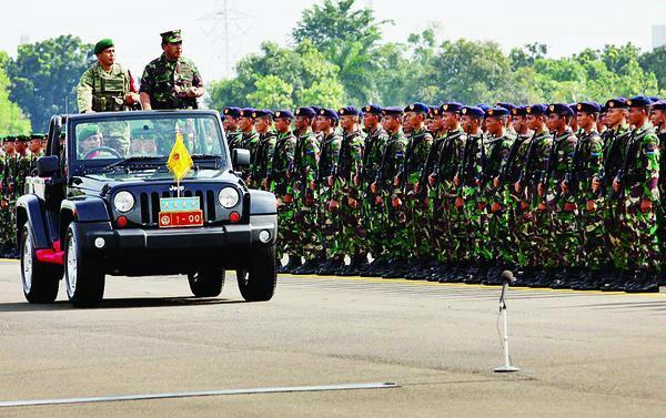 Latihan Gabungan TNI 2013 Dipusatkan di Pantai Sekerat Kutai Timur