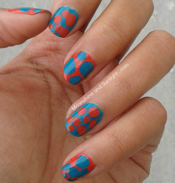 My First attempt at Blobbicure nail art || The Flintstone's Nail Art
