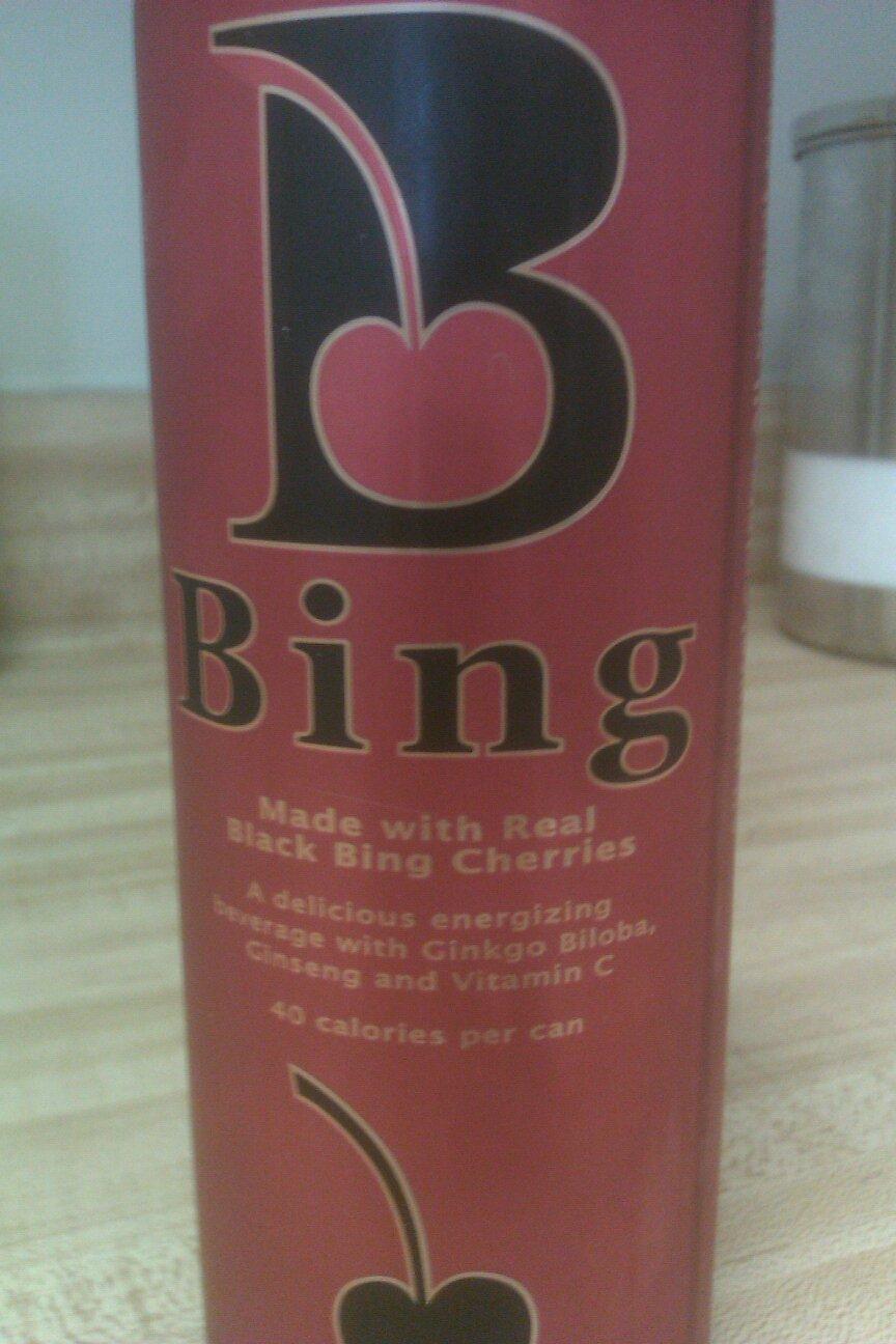 Bing Black Cherry Energy Drink