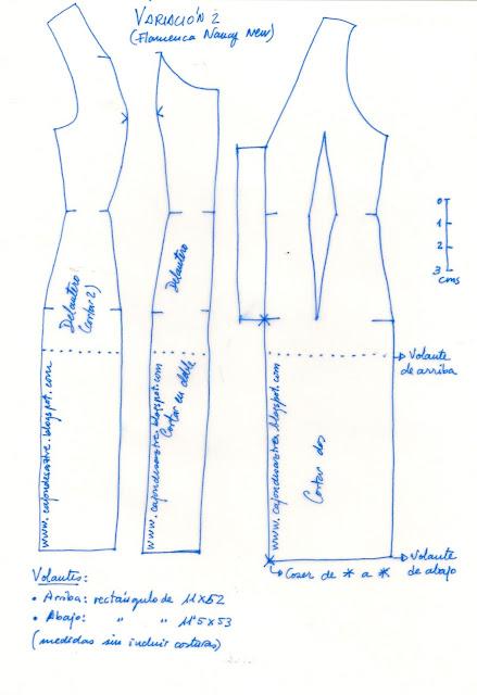 Patrones trajes de flamenca gratis - Imagui