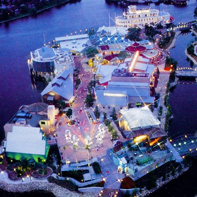 Pleasure Island Disney World New Years Eve