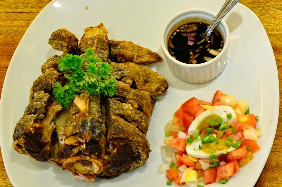 Crispy Pata: Wooden Spoon