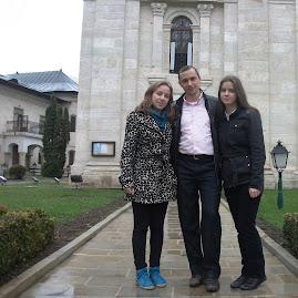 Cu elevii la Mănăstirea Golia, 11.04.2013...