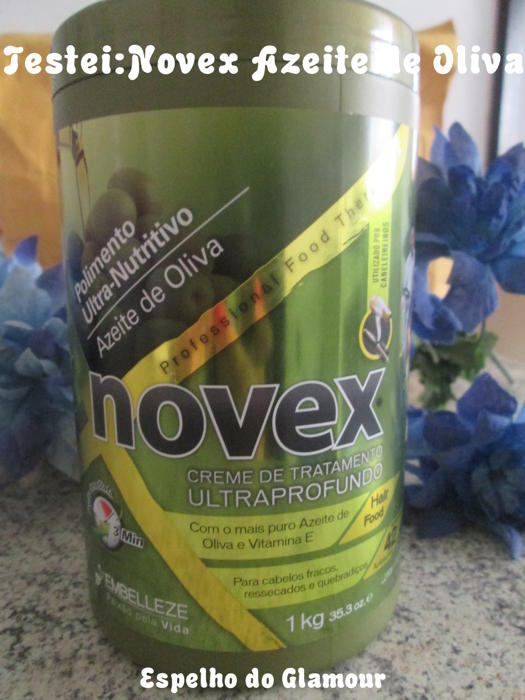 Novex Azeite de Oliva Cronograma Capilar Azeite de Oliva da Novex