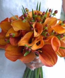 Ramos de Novias Color Naranja, parte 2