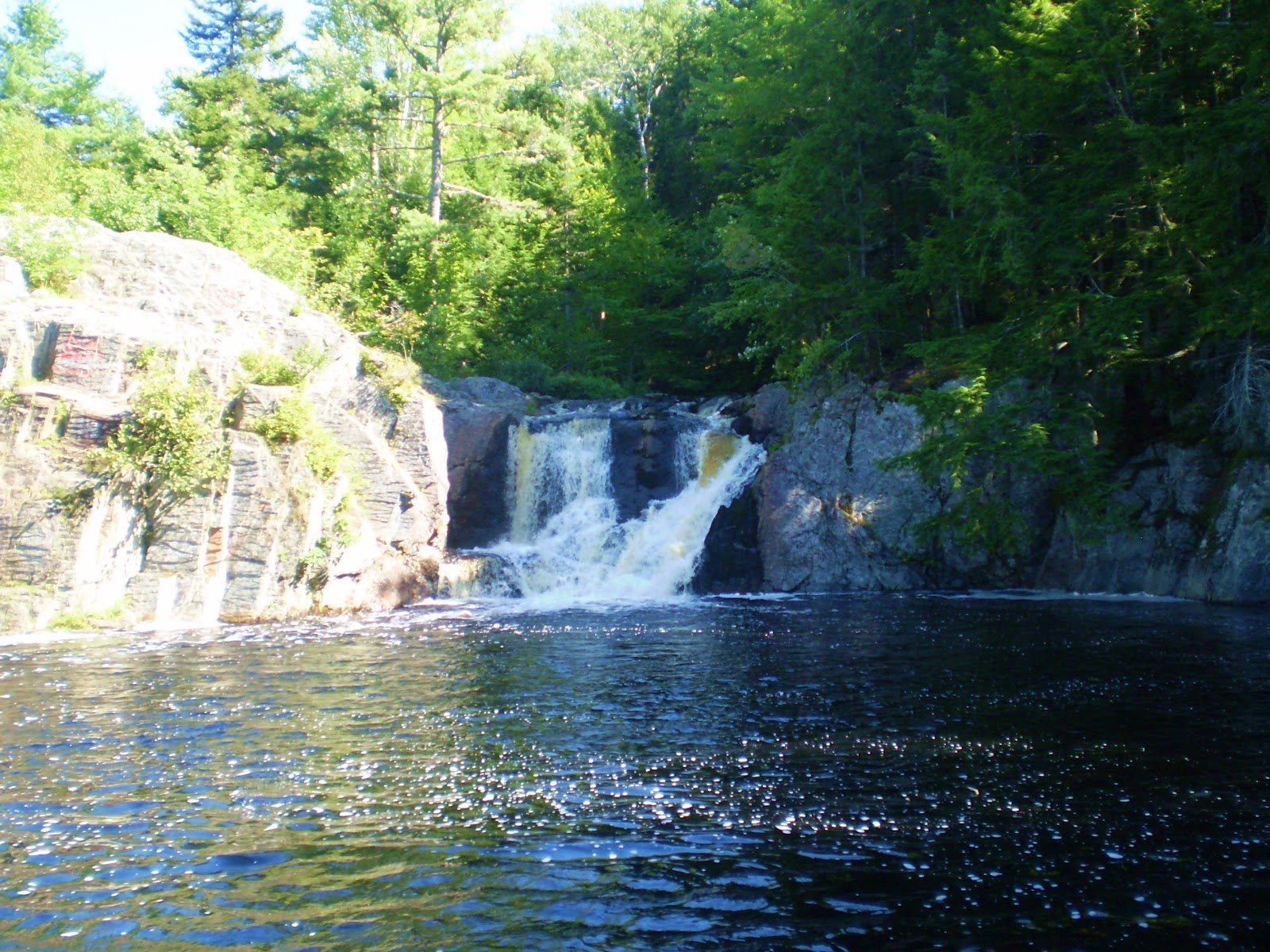 Waterfalls of nova scotia for Crystal falls