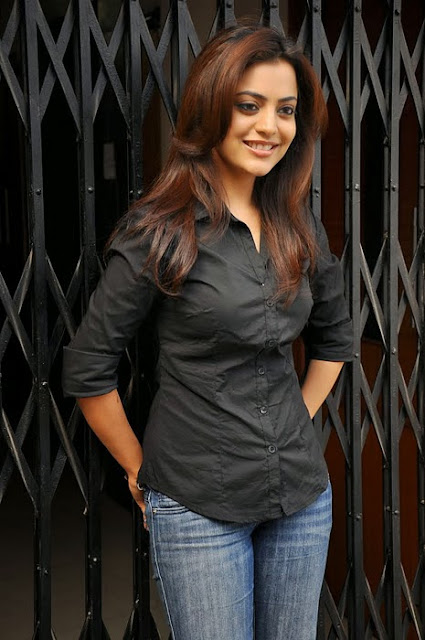 Nisha Agarwal In Black Shirt