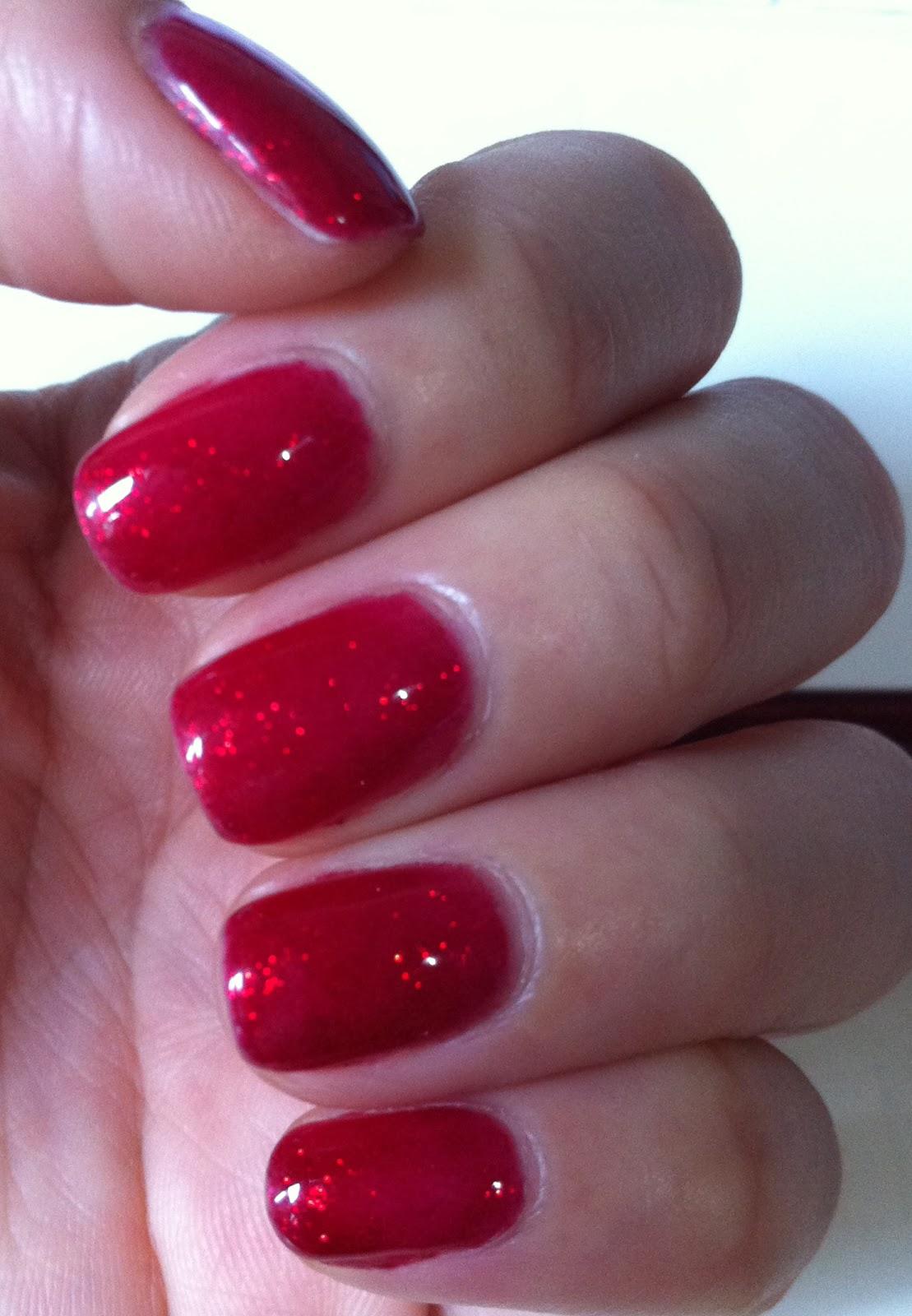 2 color nail polish designs