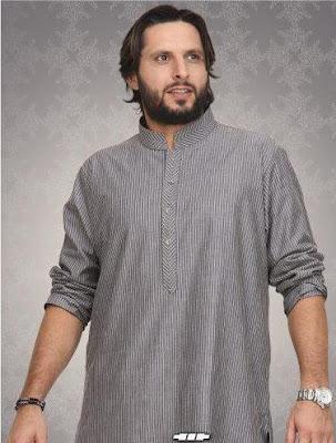 Shahid Afridi Men's Kurta