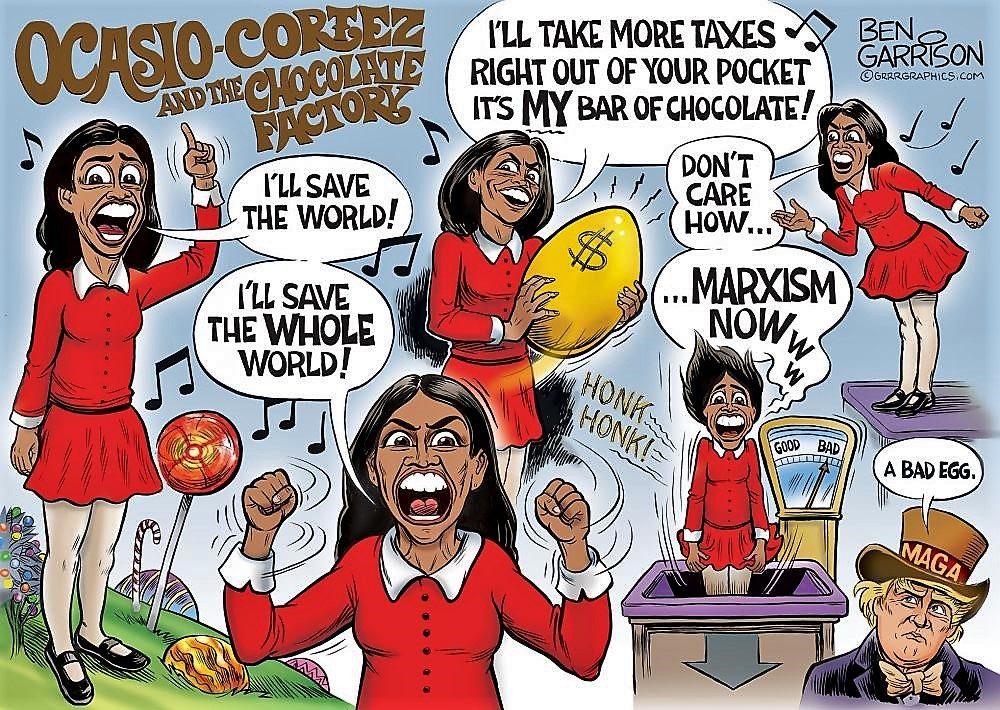 Ocasio-Cortez and The Chocolate Factory