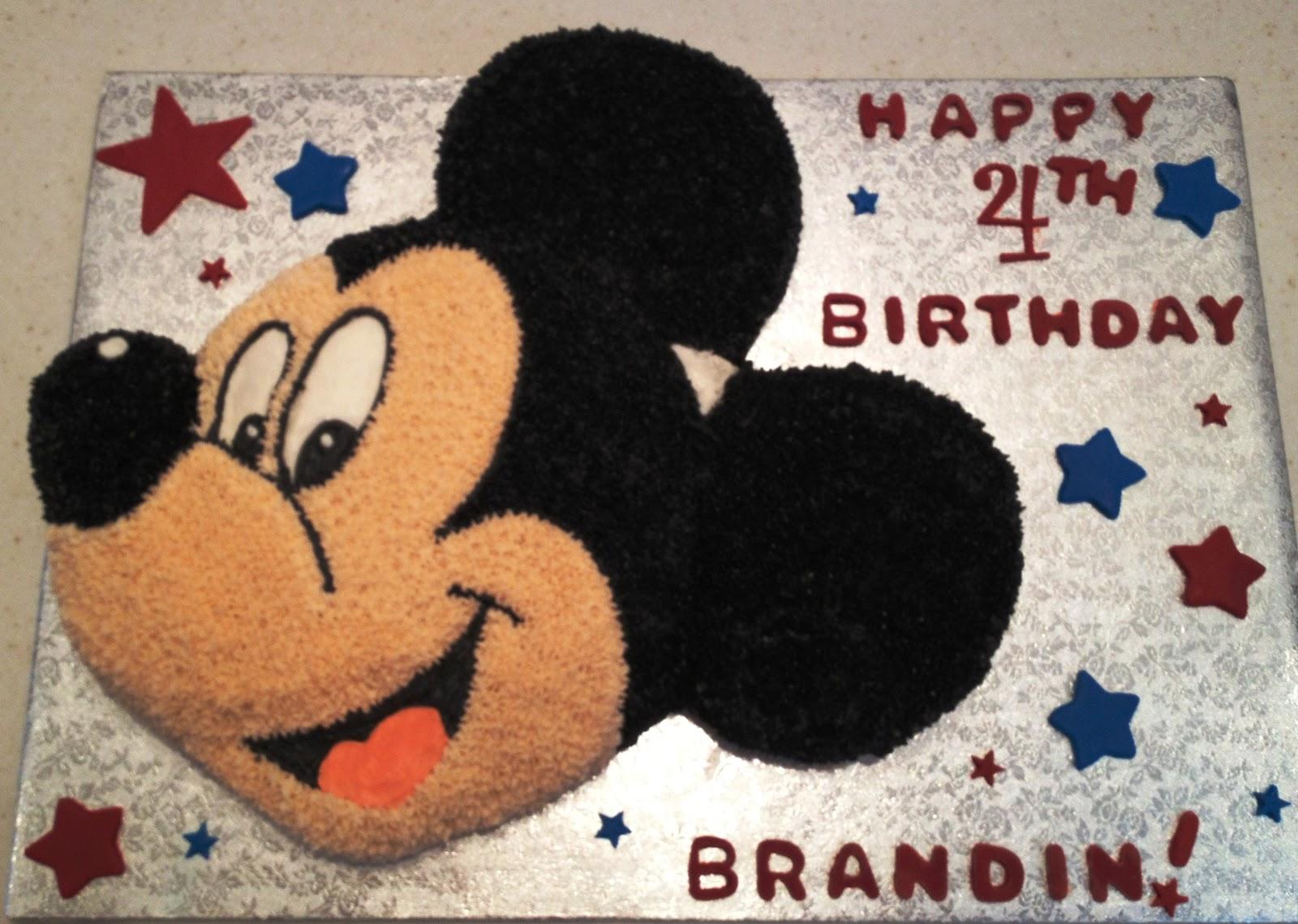 Marymel Cakes A Mickey Birthday