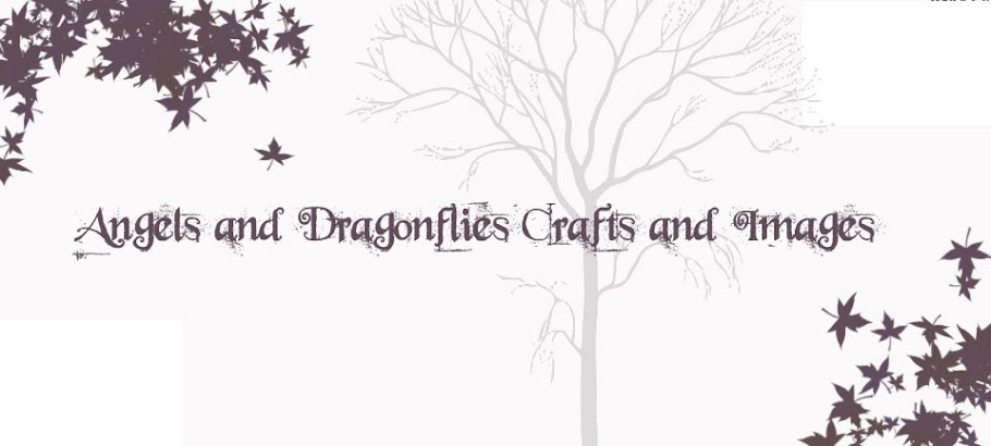 Angels and Dragonflies Crafts and Images