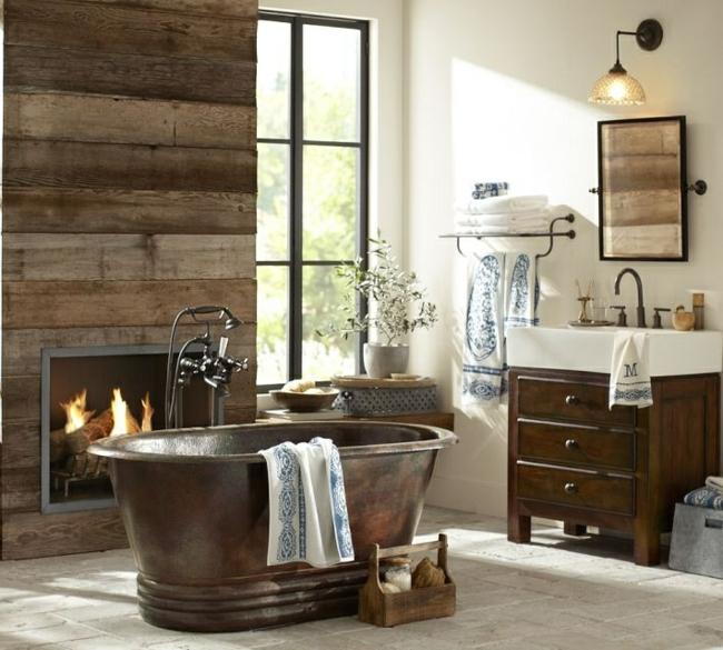 Baños Rusticos Madera:Diseños de baños rústicos