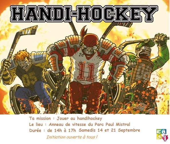easi grenoble handihockey sensibilisation