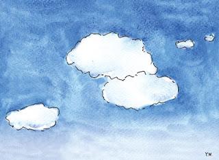 Clouds by Yukié Matsushita
