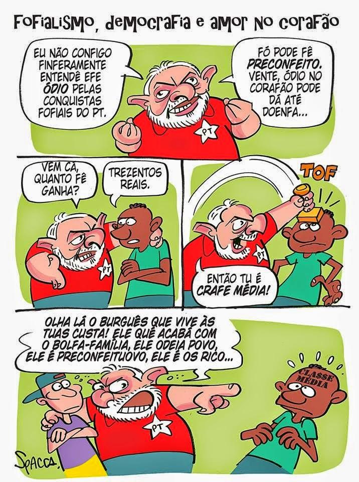 ELES ODEIAM A CLASSE MÉDIA!