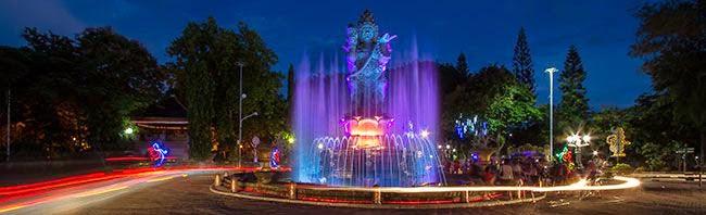 Catur Muka Statue - Denpasar, Information