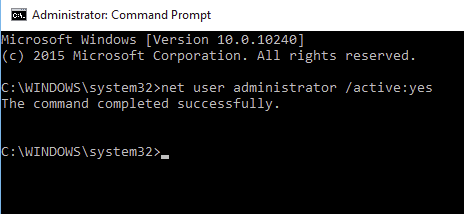 Command Prompt with Admin Privilages