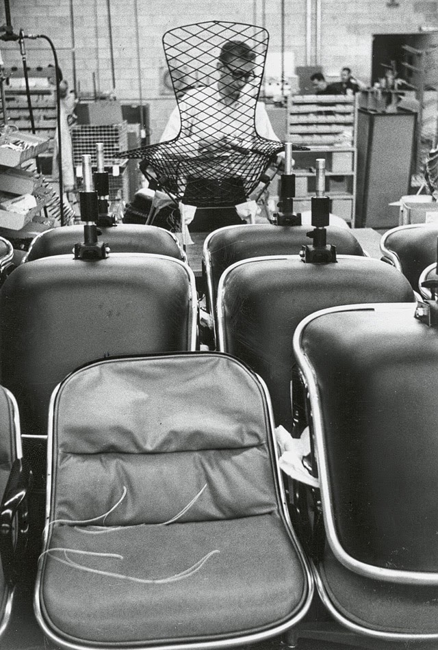Knoll Factory in the Sixties