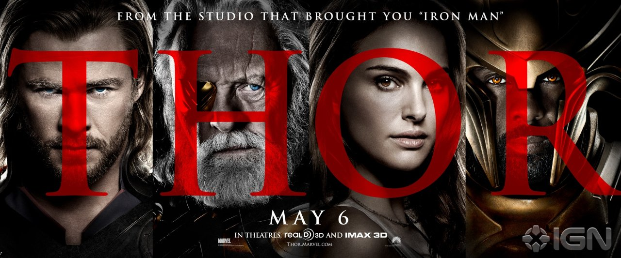 thor movie poster 2011. Latest English Movie Thor 2011