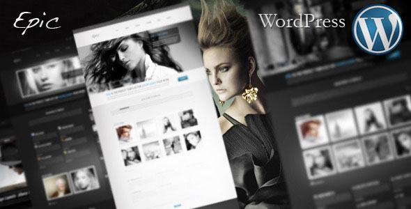 Epic WordPress Theme Free Download by ThemeForest.