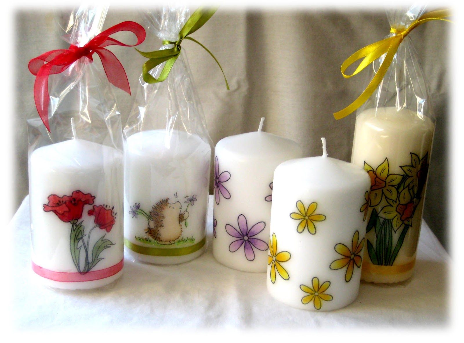 Lindas Candle Corner and Chocolate Bouquets Decorative