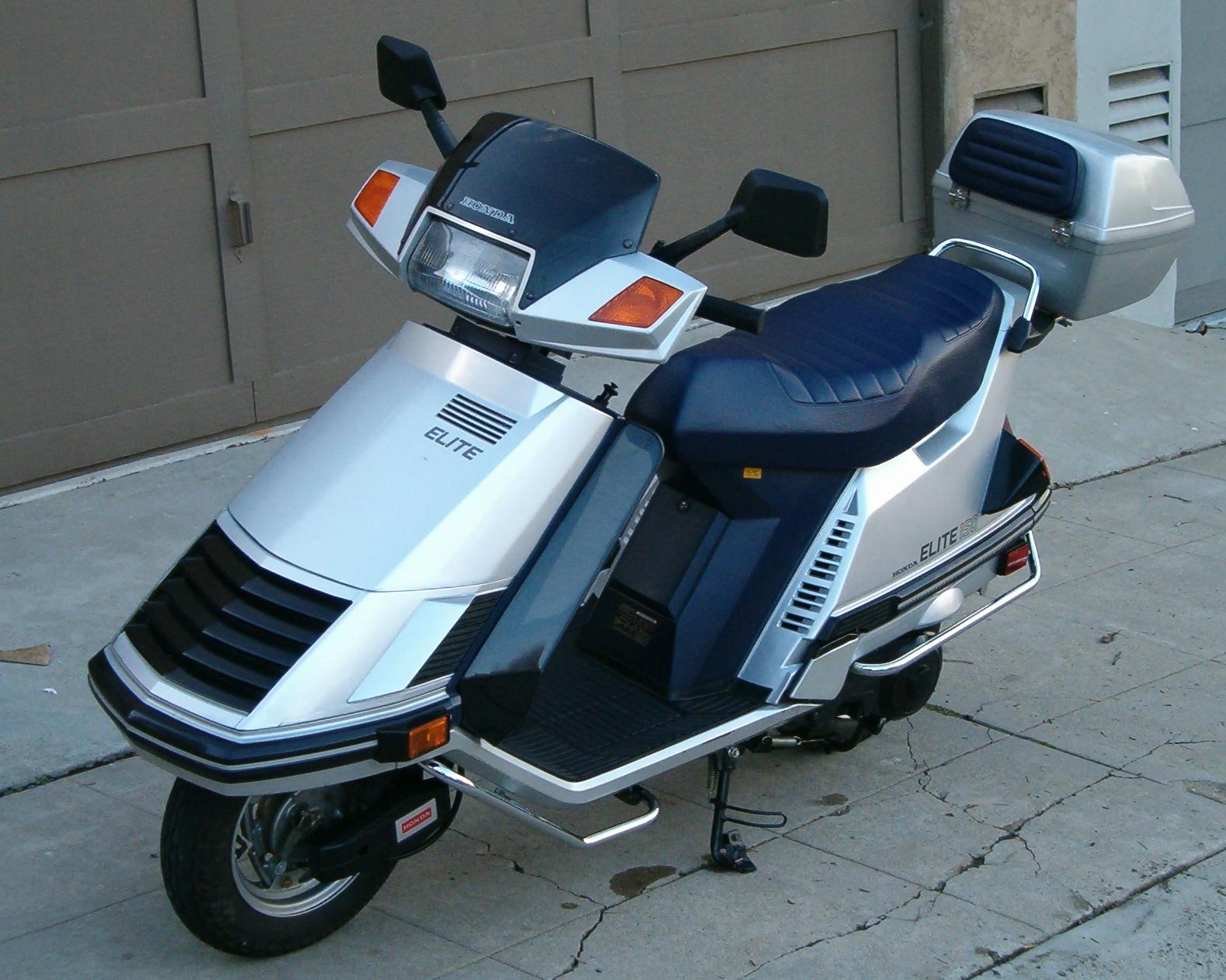 Honda Elite 150 125 Pictures Autocycle