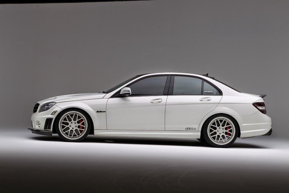 Mercedes benz w204 c63 amg on vertini concave magic for Mercedes benz w204
