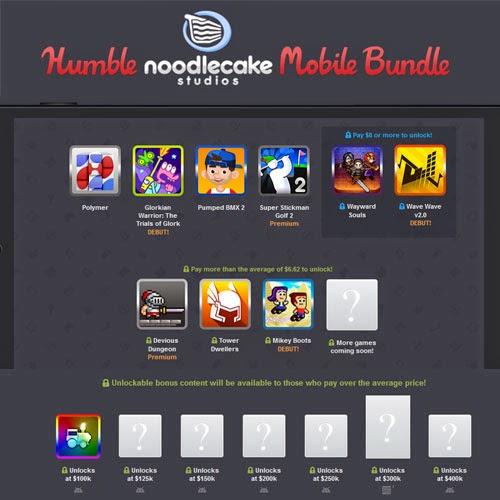4 juegos para Android desde 1 céntimo de dólar.