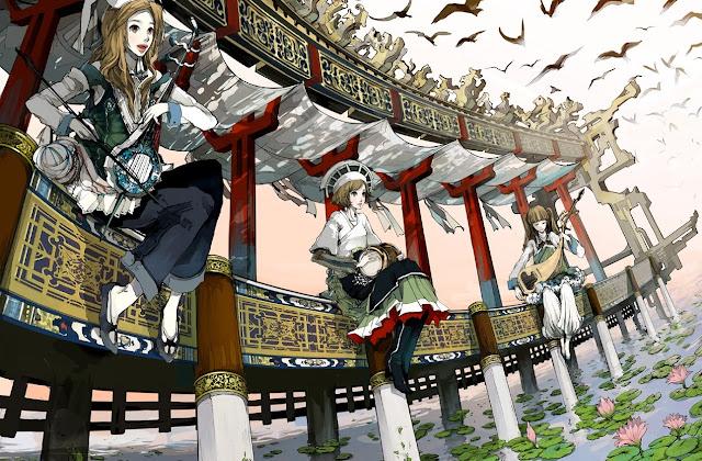 anime girl,anime strange,anime bizarre