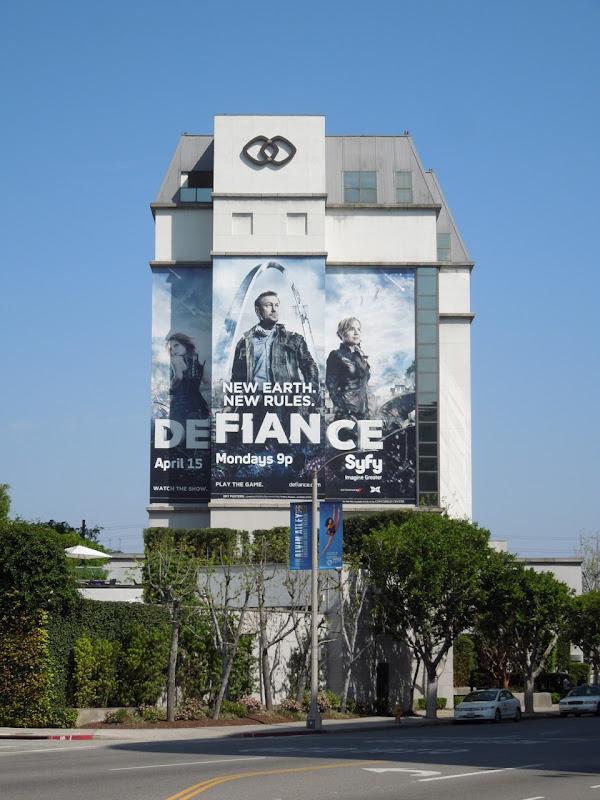 Giant Defiance Syfy billboard