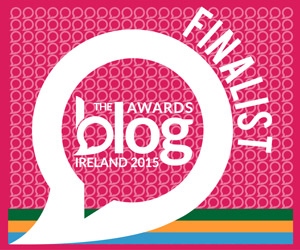 Blog Awards Ireland 2015 Finalist