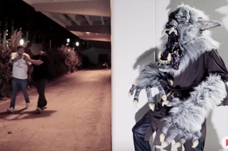Halloween Scare Prank – The Midnight Howler