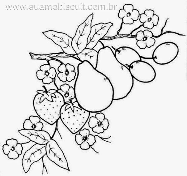 El mundo Seredipity: Frutas para Bordar