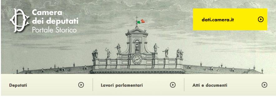 Blog del master di comunicazione storica universit di for Calendario camera deputati
