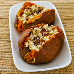 Twice-Baked Sweet Potatoes Recipe with Feta and Sumac (Gluten-Free ...