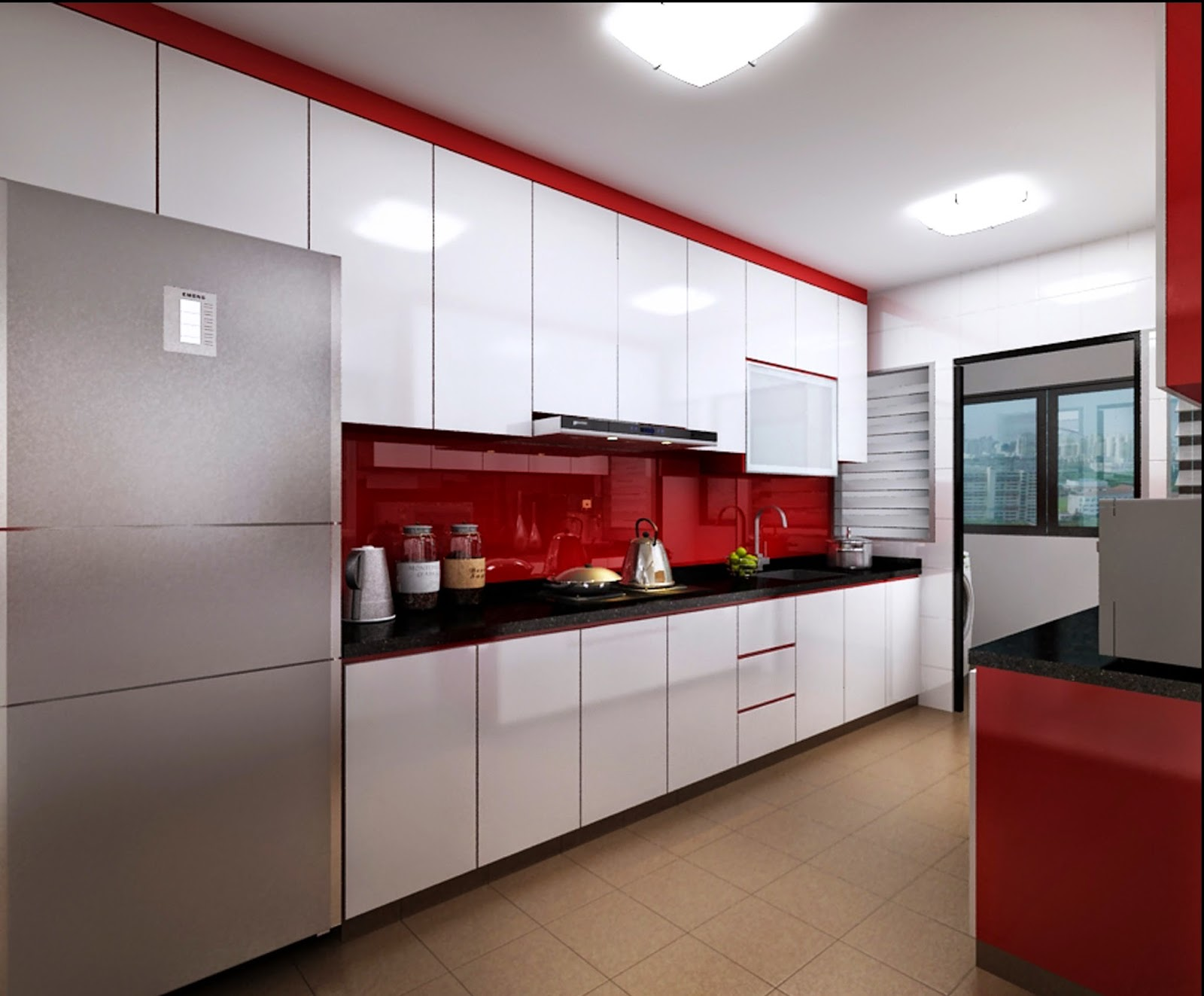Jim lim interior design hdb bto 5 room premium for Kitchen ideas hdb