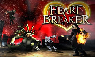 Screenshots of the Heart Breaker for Android tablet, phone.