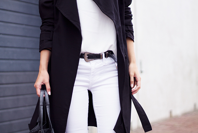 Fashion Attacks white simple basic outfit ootd