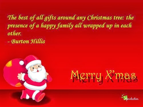 Famous Christmas Greetings Sayings For Family 2013