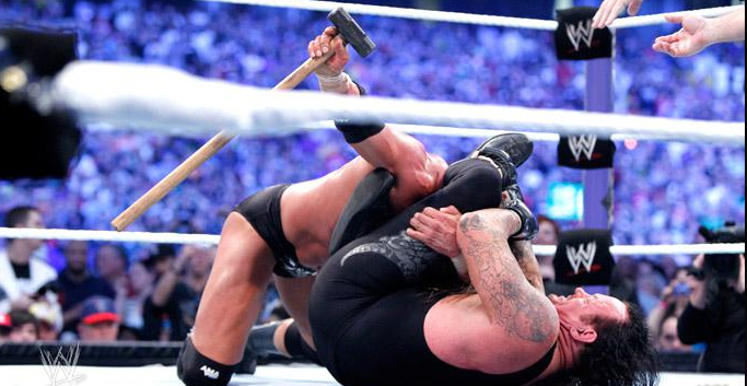 Gallery Wwe Wrestlemania 27 Undertaker Vs Triple H