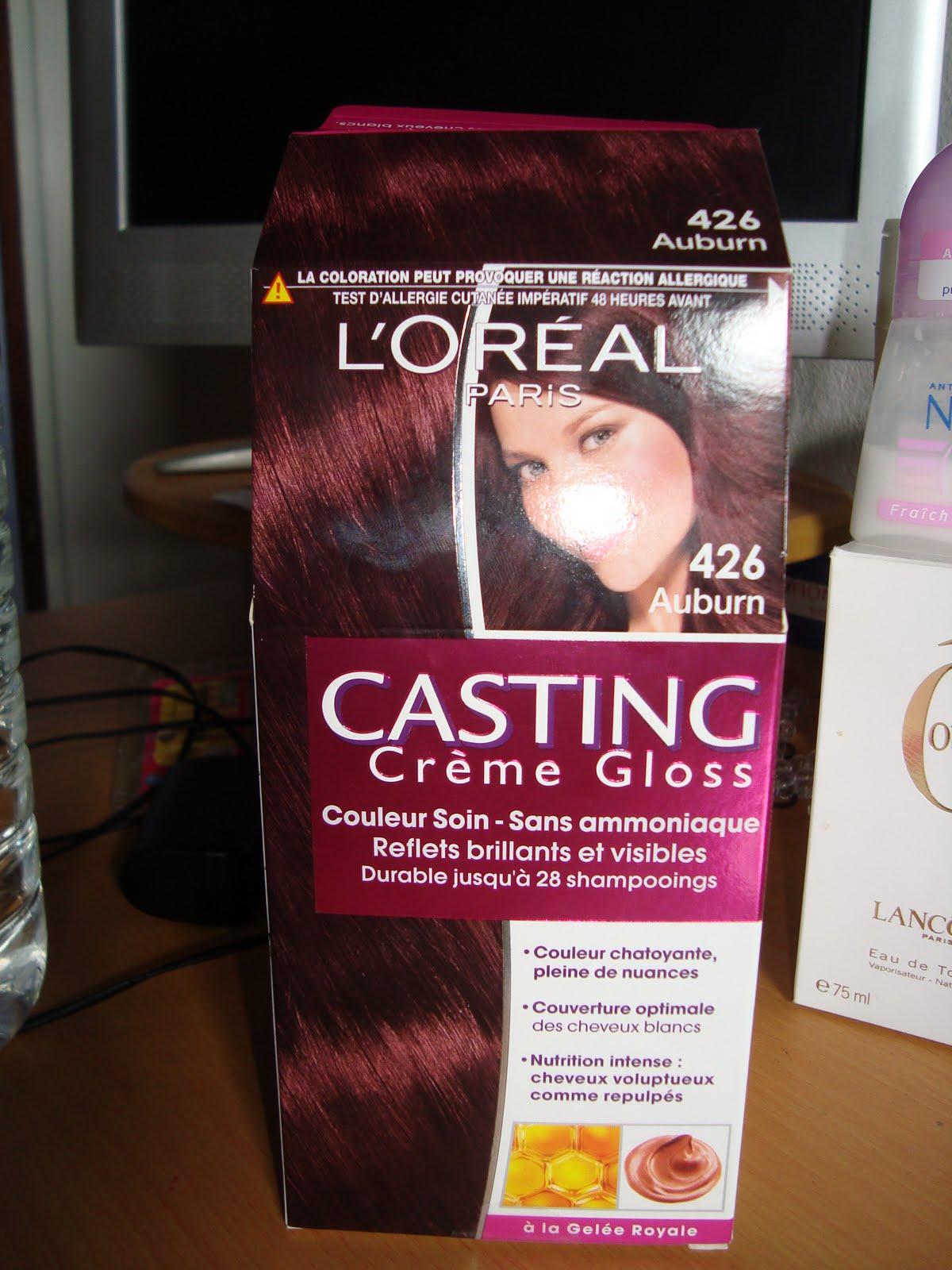 casting creme gloss de loreal couleur auburn - L Oreal Coloration Rouge