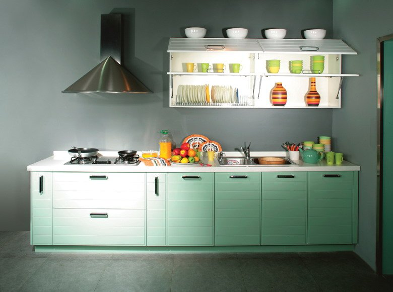 Pictures of Green Kitchen Cabinets ~ Home Design Idea