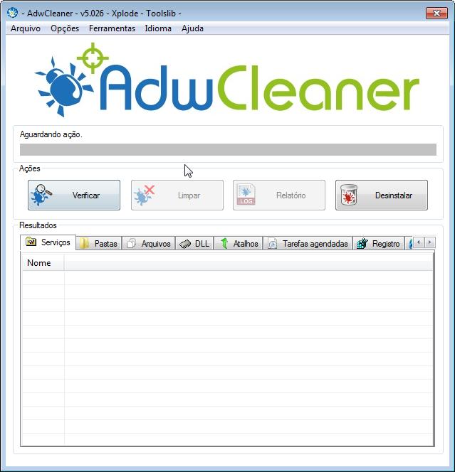 AdwCleaner v5.031 Elimina Adware/barra de ferramentas/PUP/hijacker