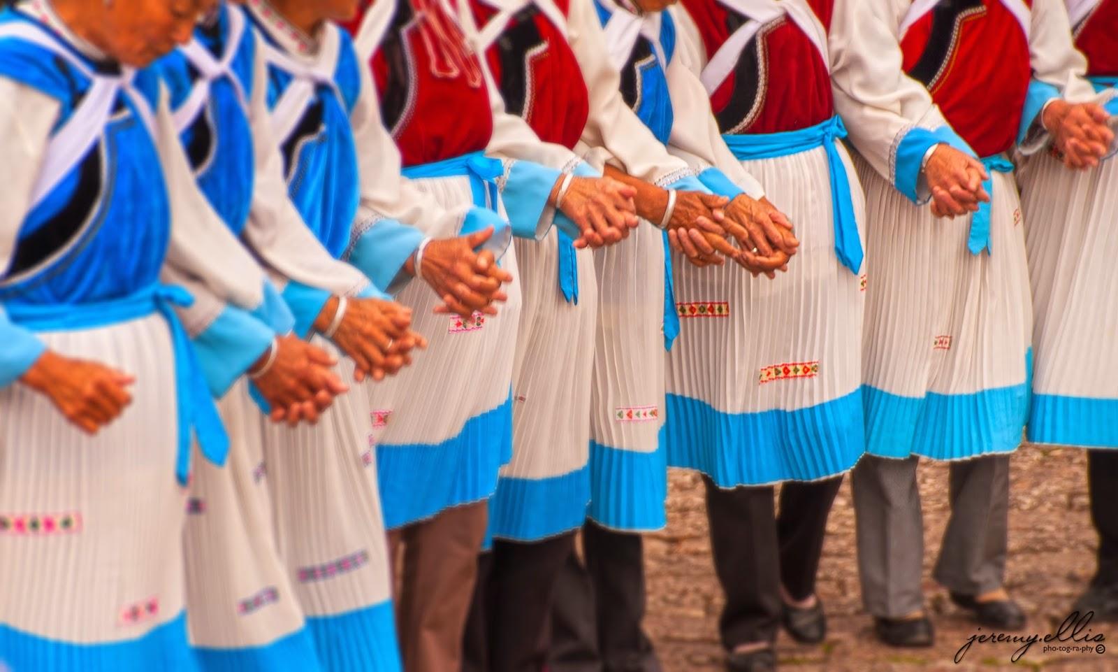 Naxi women dancing
