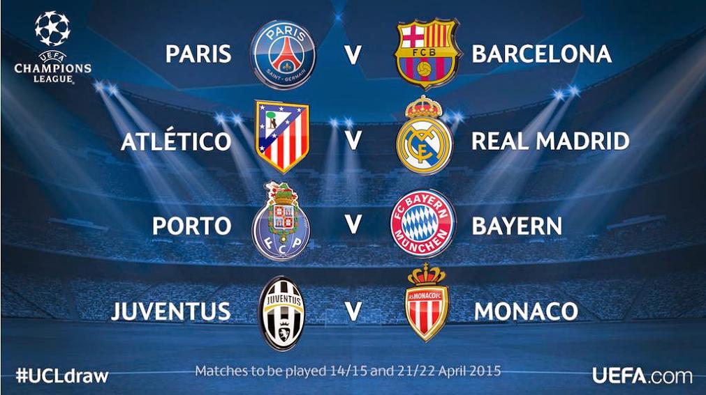 perempat final liga champions 2014 2015