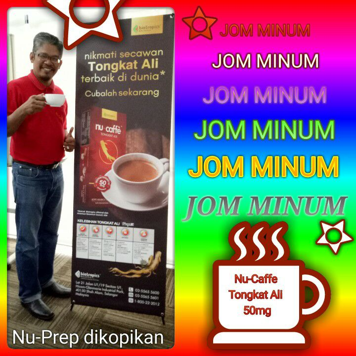 The Best Tongkat Ali In The World. Nu-Caffe Tongkat Ali 50mg.