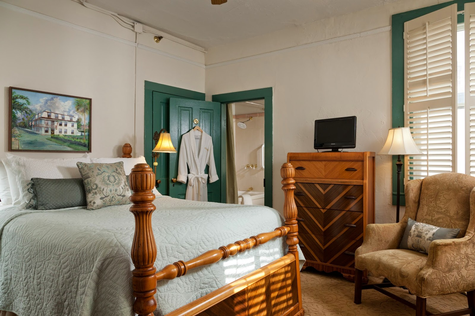 St Francis Inn Room of the Week: Elizabeth's Suite 3 stfrancis rooms elizabeth 09+x3+booking com St. Francis Inn St. Augustine Bed and Breakfast